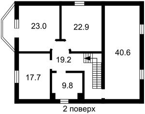 Дом Херсонская, Петропавловская Борщаговка, E-37788 - Фото 4