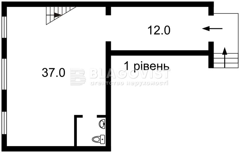 Нежитлове приміщення, A-109369, Генерала Алмазова (Кутузова), Київ - Фото 5