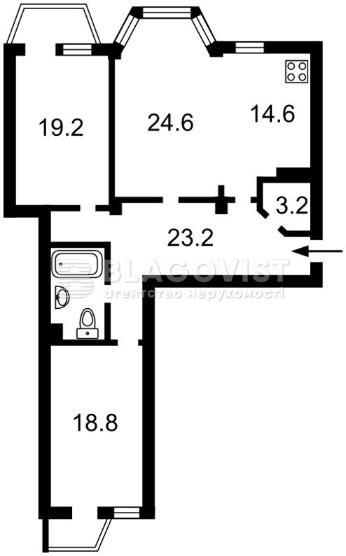 Квартира Z-358707, Ломоносова, 73а, Киев - Фото 5