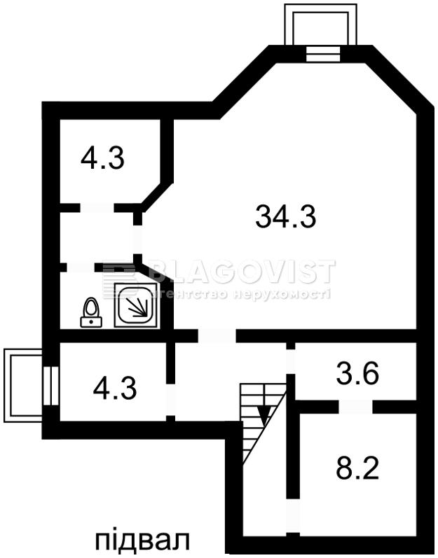 Дом H-42730, Петропавловская Борщаговка - Фото 5