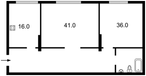 Квартира Коновальця Євгена (Щорса), 44а, Київ, Z-371611 - Фото3