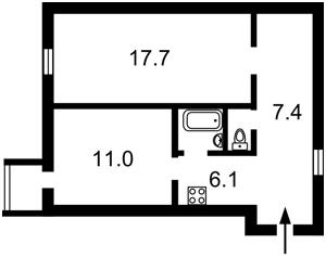 Квартира Нижний Вал, 35, Киев, Z-383178 - Фото2