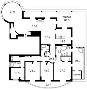 Квартира Тимирязевская, 30, Киев, C-105555 - Фото 2
