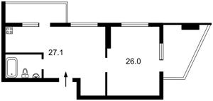 Квартира Гоголівська, 47, Київ, Z-373340 - Фото 2