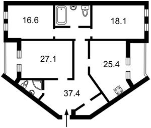 Квартира Дмитриевская, 48г, Киев, Z-367797 - Фото2