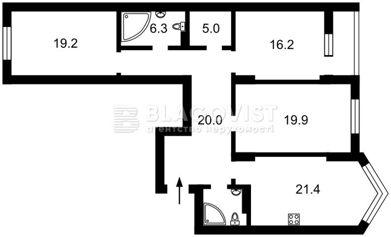 Квартира Z-369850, Вышгородская, 45, Киев - Фото 5