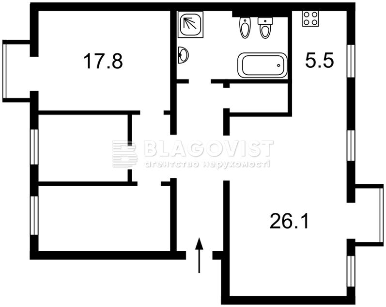 Квартира C-78301, Волоська, 21, Київ - Фото 3
