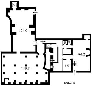 Нежилое помещение, Толстого Льва, Киев, E-37852 - Фото2