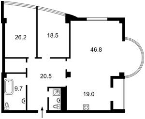 Квартира A-109312, Зверинецкая, 59, Киев - Фото 5