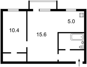 Квартира Госпитальная, 24, Киев, R-15279 - Фото2
