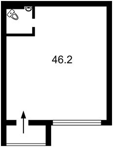 Нежилое помещение, Ломоносова, Киев, P-24442 - Фото2