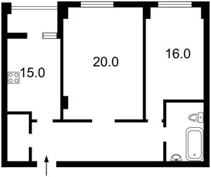 Apartment Hlushkova Akademika avenue, 9е, Kyiv, Z-406078 - Photo2
