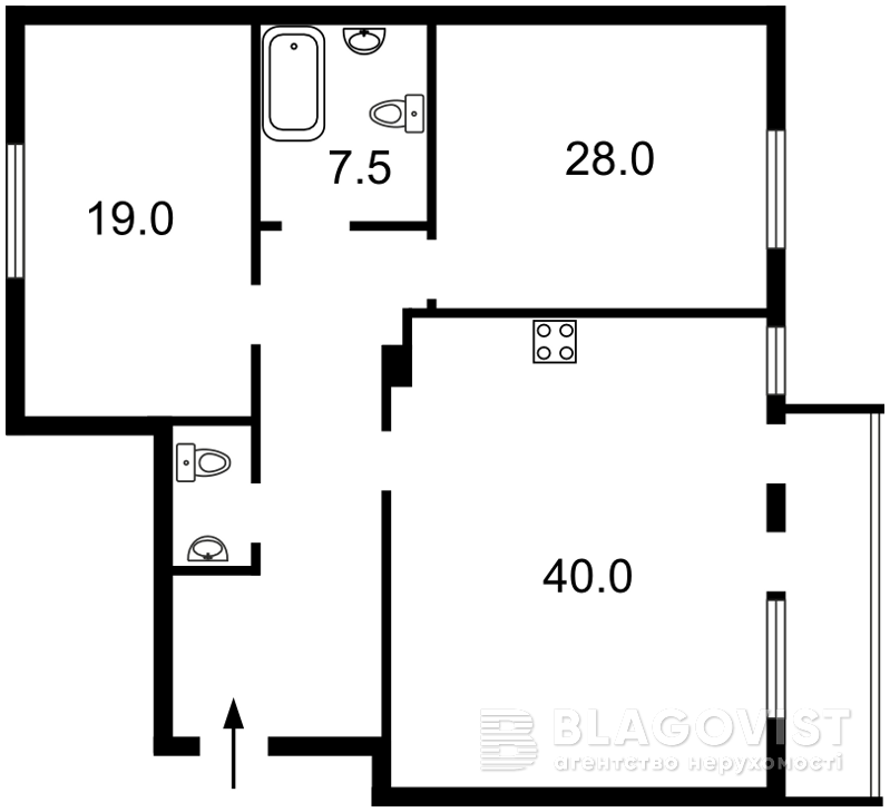 Квартира Z-379994, Срибнокильская, 2а, Киев - Фото 5