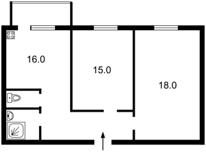 Квартира A-109431, Митрополита Андрея Шептицкого (Луначарского), 1в, Киев - Фото 3