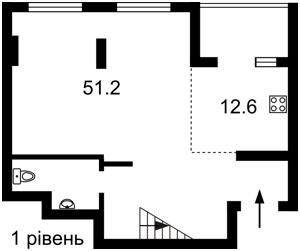 Квартира Эрнста, 16в, Киев, Z-406602 - Фото2