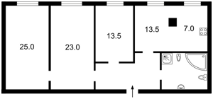 Квартира Володимирська, 51/53, Київ, R-13439 - Фото 2