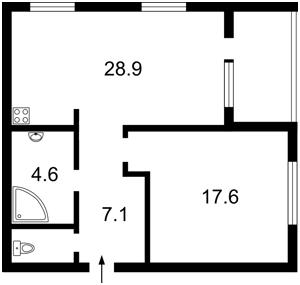 Квартира Грабовського П.пров., 11, Київ, Z-409073 - Фото2