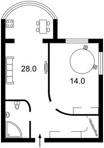 Квартира Героев Сталинграда просп., 8, Киев, C-104770 - Фото2