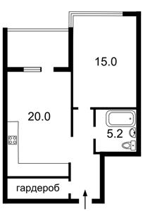 Квартира Кудри Ивана, 7, Киев, Z-408866 - Фото2