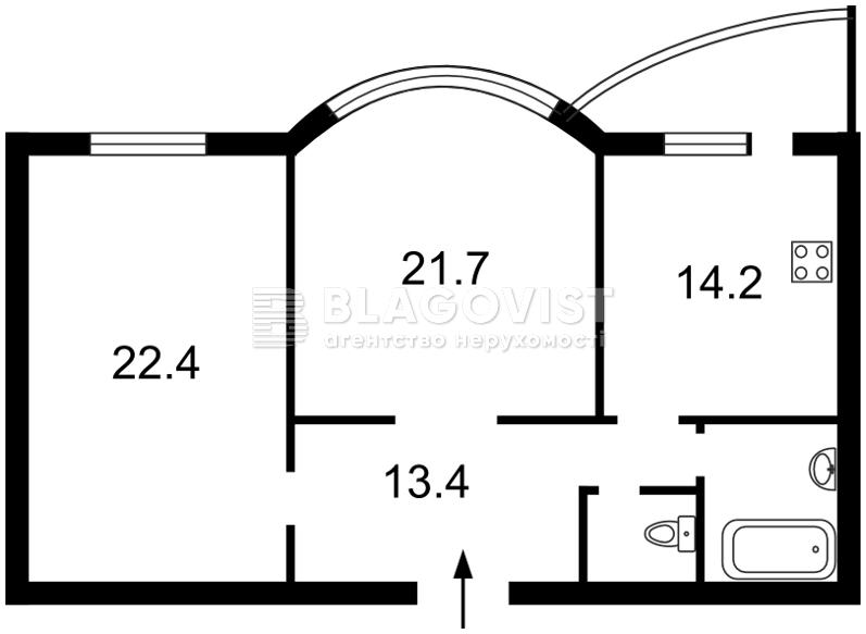 Квартира R-21481, Подгорная, 7/36, Киев - Фото 4