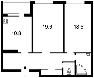 Apartment Tumaniana Ovanesa, 3, Kyiv, R-21495 - Photo2