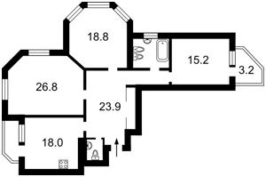 Квартира Клиническая, 23/25, Киев, H-42853 - Фото 2