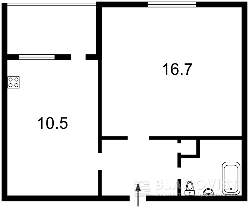 Квартира H-42765, Антоновича (Горького), 152, Київ - Фото 3