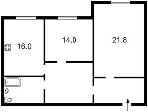 Квартира Героев Сталинграда просп., 10а, Киев, R-21634 - Фото2