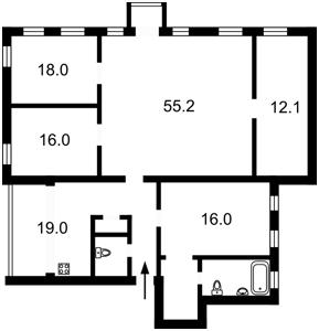 Квартира Большая Васильковская, 49, Киев, H-42724 - Фото2