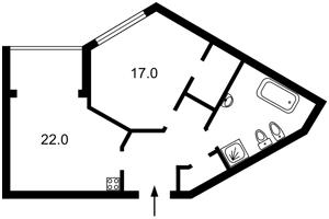Квартира Зарічна, 1г, Київ, F-40257 - Фото2