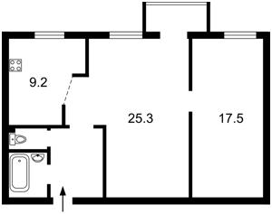 Квартира Спасская, 8а, Киев, R-20456 - Фото2