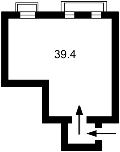 Нежитлове приміщення, F-40728, Омеляновича-Павленка Михайла (Суворова), Київ - Фото 3