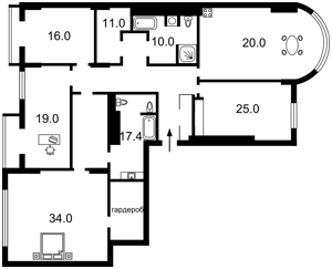 Квартира Крещатик, 27б, Киев, P-8041 - Фото2