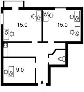 Нежилое помещение, Большая Житомирская, Киев, Z-373273 - Фото2