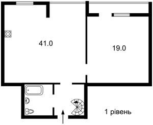 Квартира Саксаганського, 33/35, Київ, Z-353208 - Фото2
