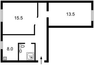 Квартира Щербаковского Даниила (Щербакова), 62, Киев, Z-400010 - Фото2