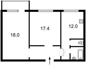 Квартира Вышгородская, 54б, Киев, Z-320842 - Фото2