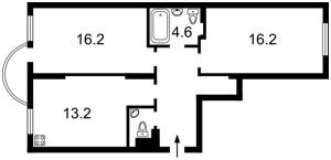 Квартира Феодосійський пров., 12, Київ, Z-403220 - Фото2