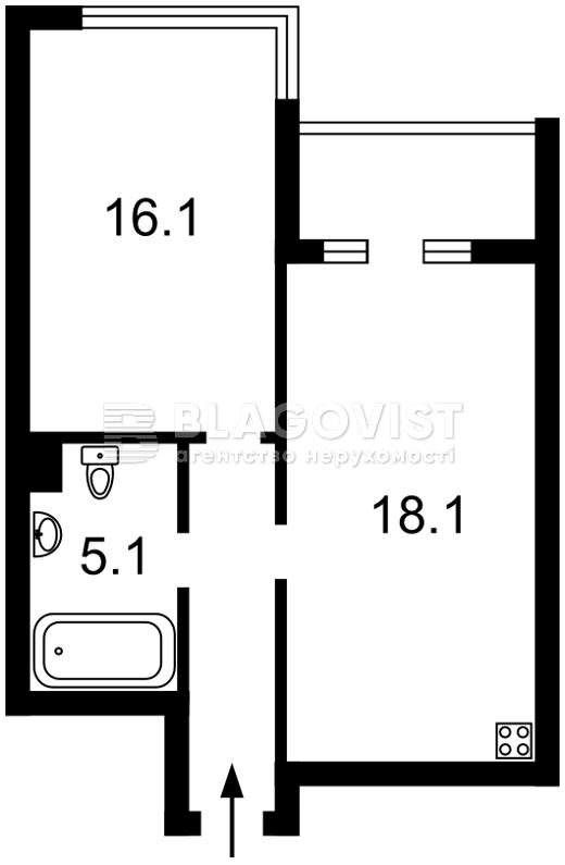 Квартира F-40798, Кудрі Івана, 7, Київ - Фото 8