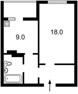 Квартира Z-1488558, Гмыри Бориса, 14б, Киев - Фото 4