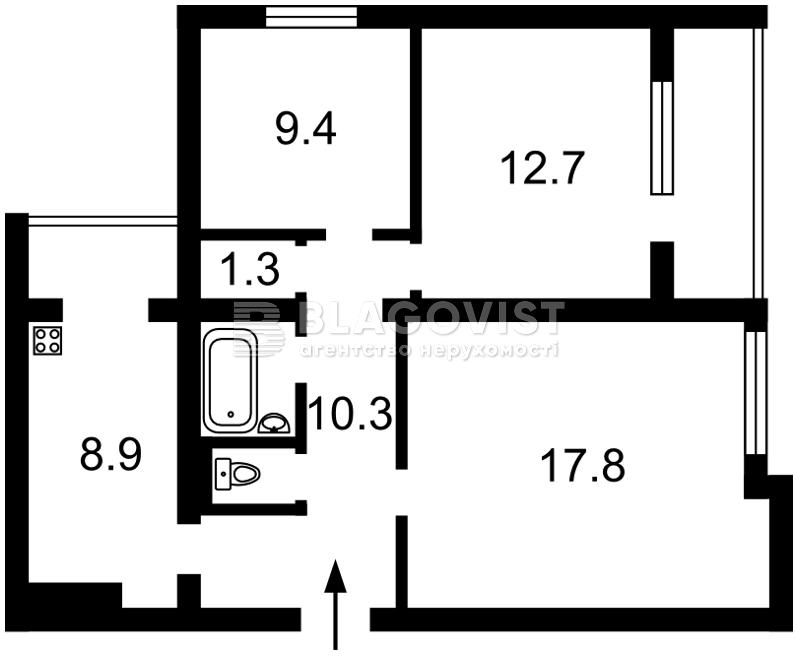 Квартира H-42936, Антоновича (Горького), 110, Київ - Фото 2