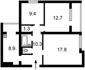 Квартира Антоновича (Горького), 110, Киев, H-42936 - Фото2