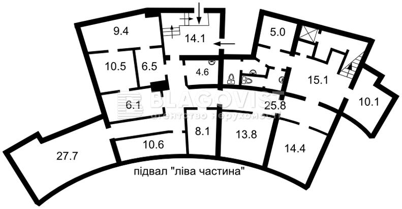 Нежитлове приміщення, E-37935, Гоголівська, Київ - Фото 6