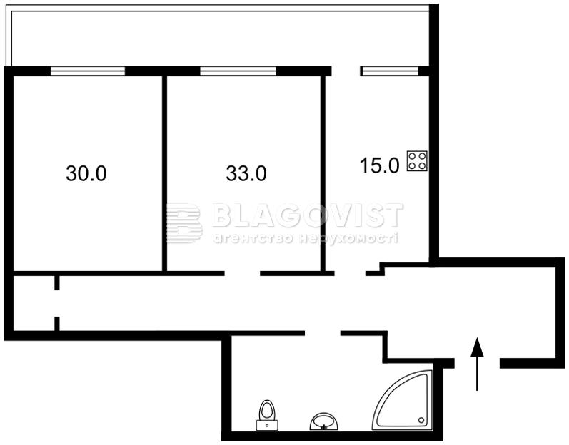 Квартира Z-430257, Леси Украинки бульв., 7б, Киев - Фото 6