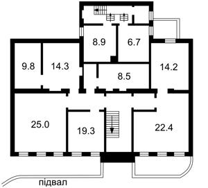 Отдельно стоящее здание, Тургеневская, Киев, E-37982 - Фото 2
