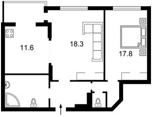Квартира Днепровская наб., 1а, Киев, H-42989 - Фото2
