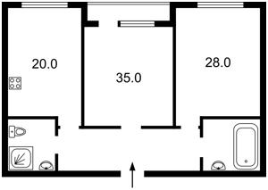 Квартира Срібнокільська, 2а, Київ, Z-426255 - Фото2