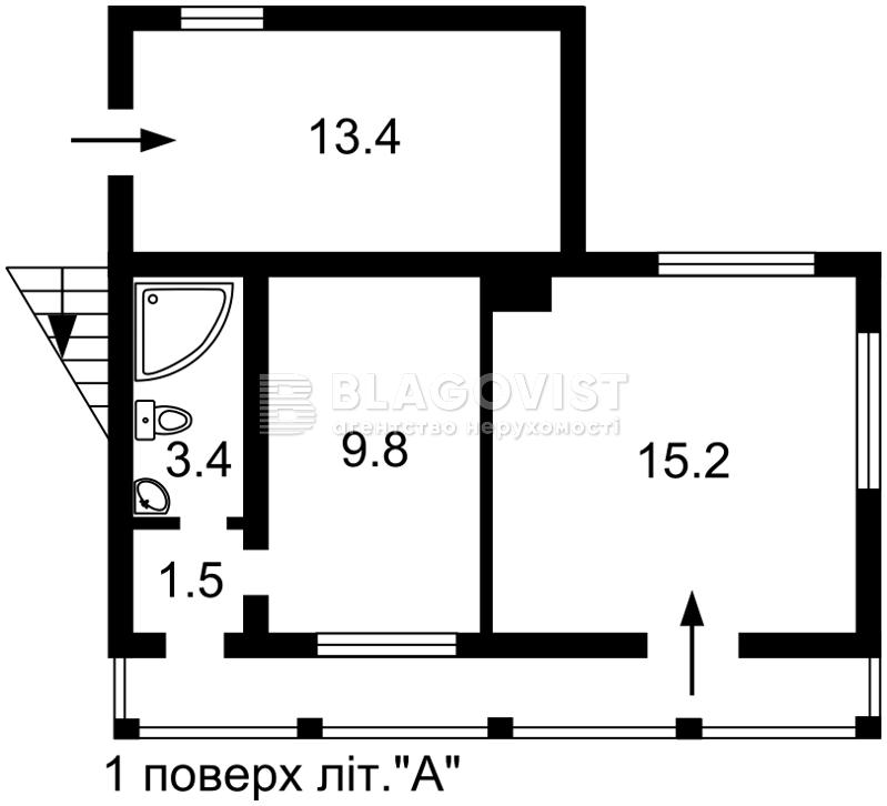 Нежитлове приміщення, F-40841, Комарова, Мила - Фото 3