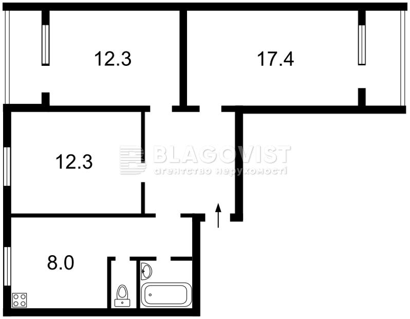 Квартира Z-400327, Симиренко, 19, Киев - Фото 4