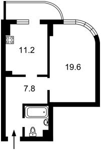 Квартира Драгомирова Михаила, 2а, Киев, Z-367916 - Фото2